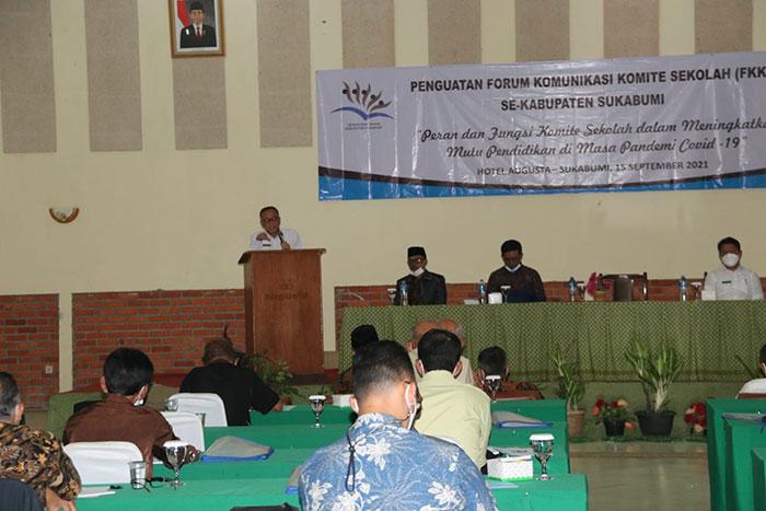 Wakil Bupati Sukabumi Iyos Somantri