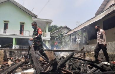 Kebakaran pesantren di Kampung Babakan
