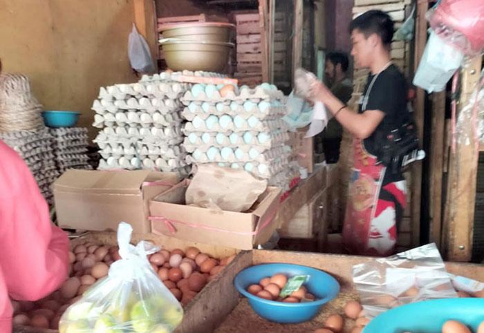 Pedagang telor Sukabumi