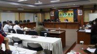 rapat perdana perubahan anggaran 2021 di Gedung DPRD