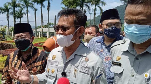 Menteri Pertanian (Mentan) Republik Indonesia, Syahrul Yasin Limpo