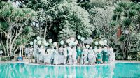 pernikahan di Taman Sari Hotel Sukabumi