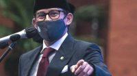 Sandiaga Uno Menteri Pariwisata dan Ekonomi Kreatif