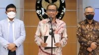 Menteri Koordinator Bidang Politik, Hukum, dan Keamanan, Mahfud MD