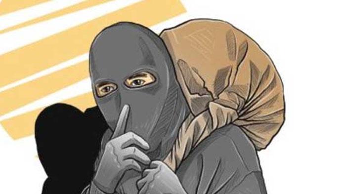 Ilustrasi Rampok