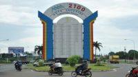 Salah satu kawasan industri di Kabupaten Bekasi