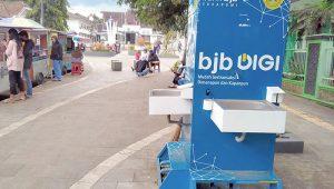 wastafel di Pendestrian Dago Kota Sukabumi